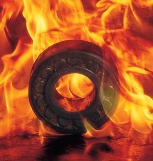 Nhiệt độ nóng chảy của bạc đạn trong quá trình sản xuất